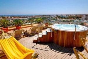 Hotel Eugenia Victoria hottub