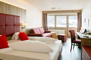 Aparthotel Ferienclub Bellevue am See kamer