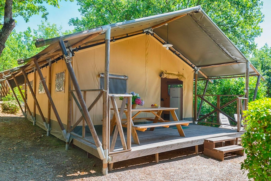 Camping Barco Reale accommodatie