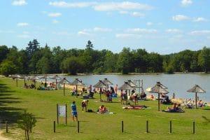 Camping Les Alicourts Resorts strand
