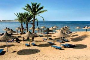 Hotel Malikia Resort Abu Dabbab strand