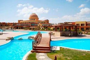 Hotel Malikia Resort Abu Dabbab zwembad