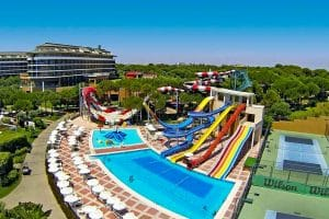 Hotel Voyage Belek zwembad
