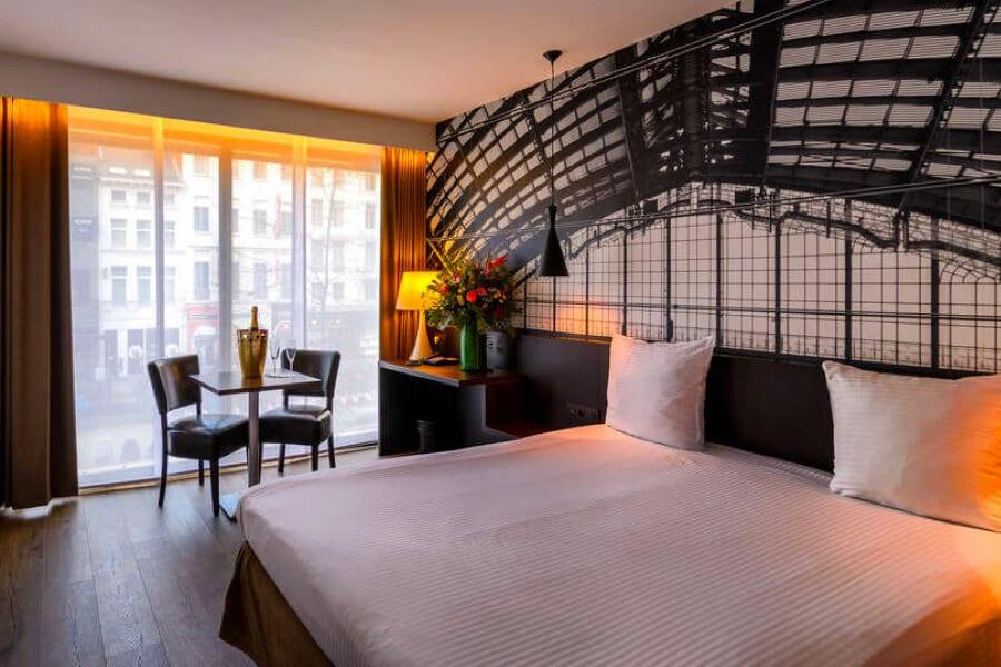 Hotel de Keyser kamer