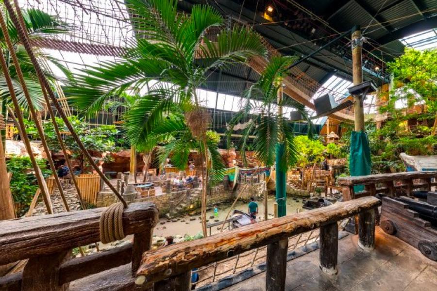 Vakantiepark Center Parcs De Vossemeren speeltuin