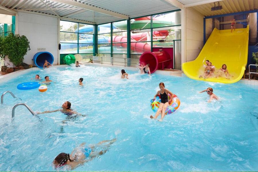 Vakantiepark Molenheide waterglijbanen