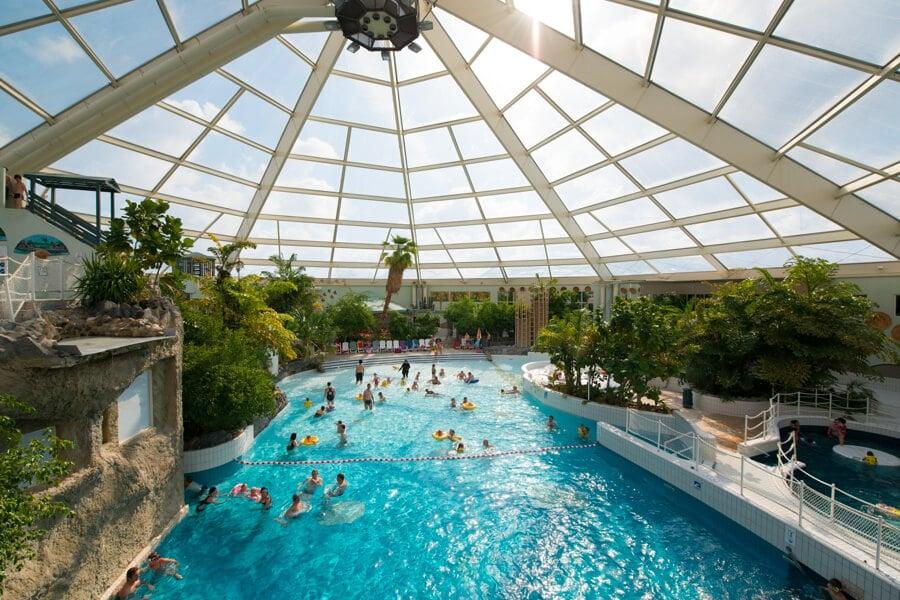 Vakantiepark Sunparks de Haan aan zee zwembad
