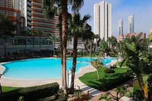 Appartement Gemelos 22 zwembad