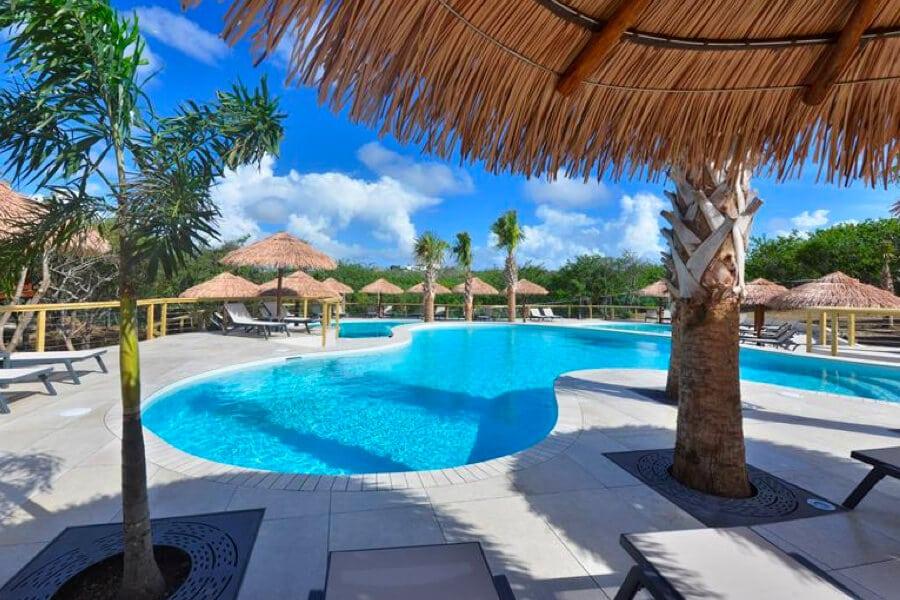 Appartement Morena Eco Resort zwembad