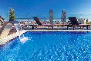 Hotel H10 Marina Barcelona zwembad