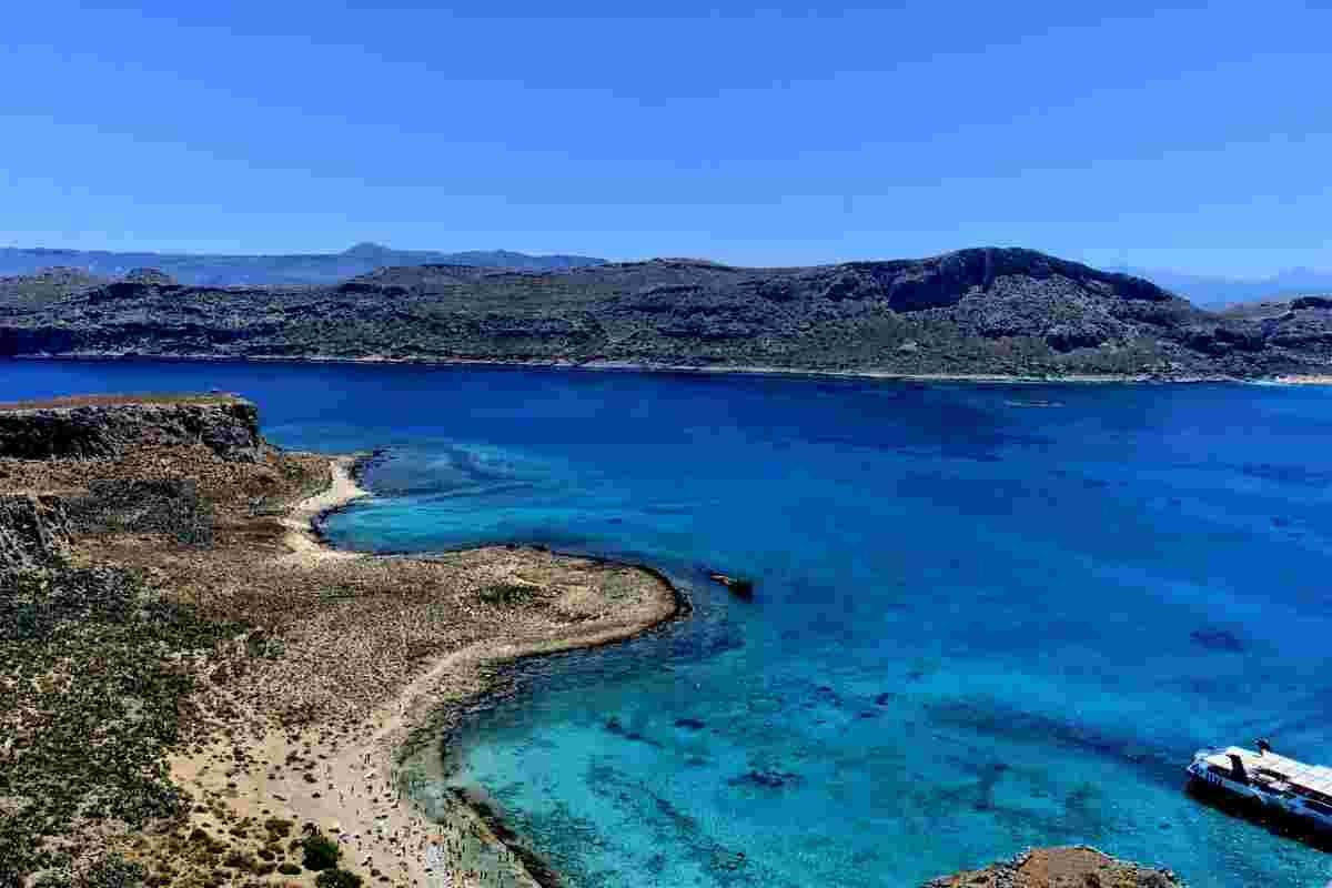Balos Beach op Kreta