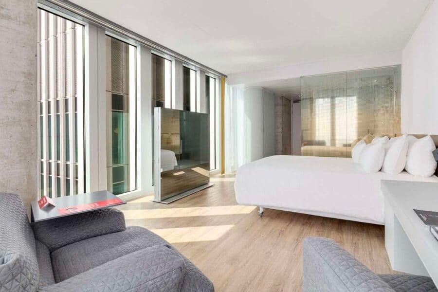 Hotel nhow Rotterdam kamer
