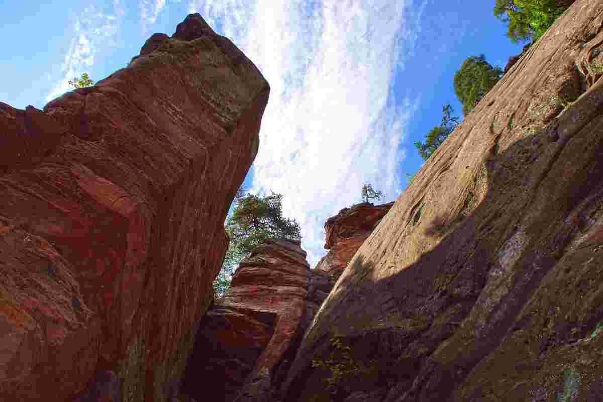 noordelijke vogezen rotsen