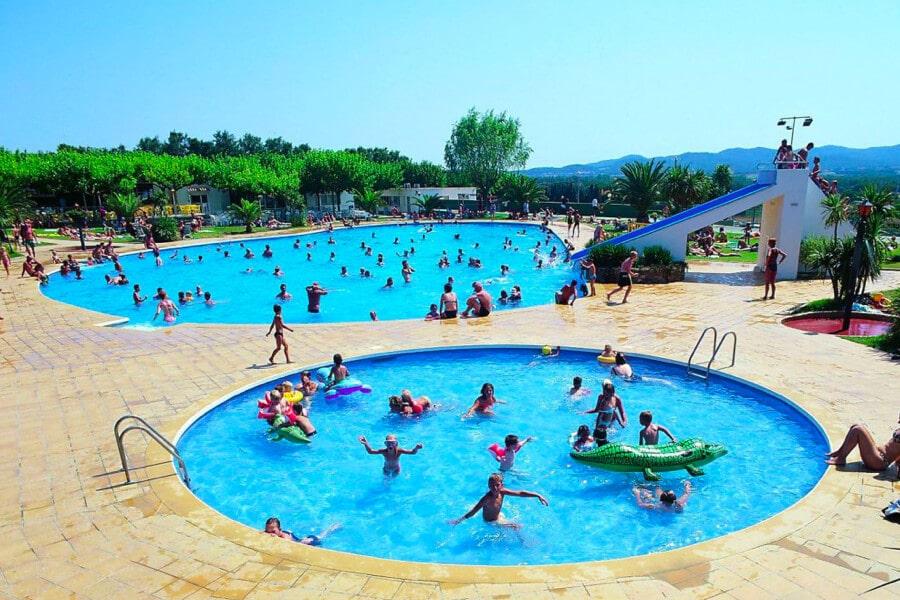 Camping Mas Patoxas zwembad