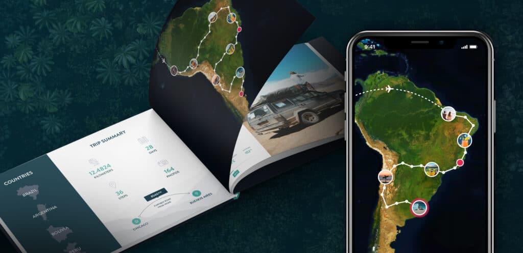 Polarsteps: De ideale app om je reis bij te houden & te delen