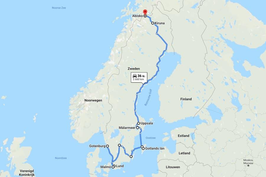 Rondreis Zweden: 14x de mooiste plekken en steden