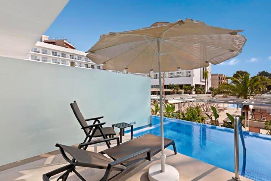 Hotel Riu Playa Park swim up kamer