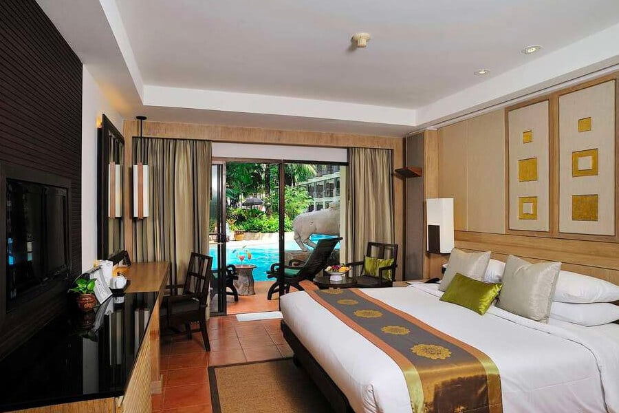 Phuket Marriott Resort and Spa swim up kamer