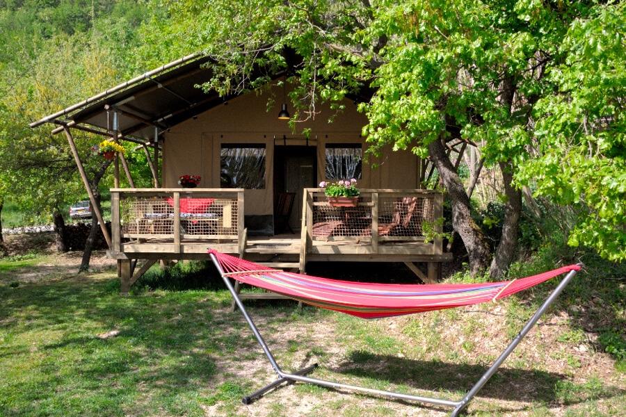Camping Casa Tartufo tent