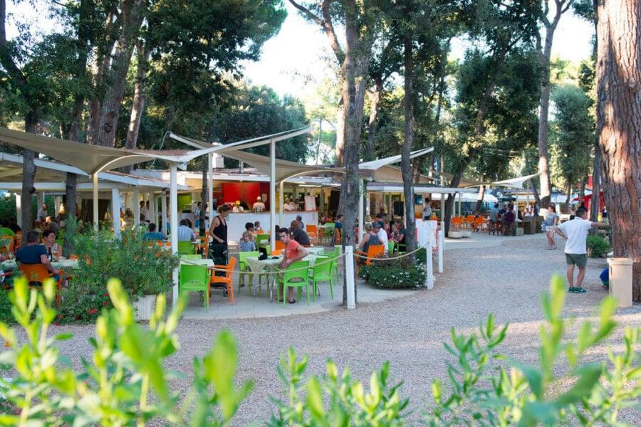 Camping International Etruria restaurants