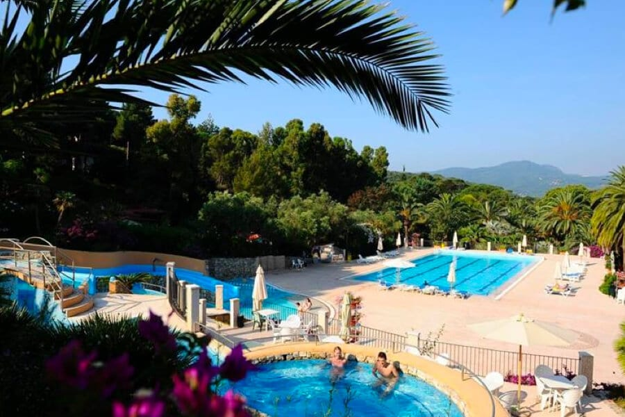 Camping Rosselba le Palme zwembad