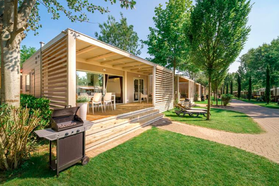 Camping Village Montescudaio accommodatie