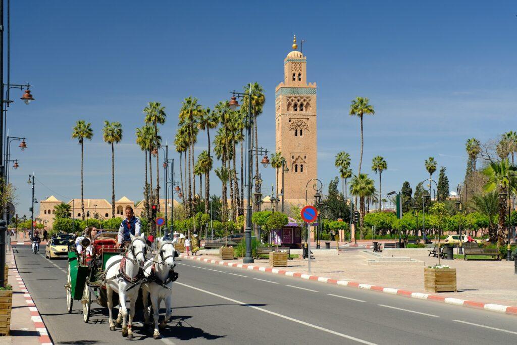 Vervoer in Marrakech: Openbaar vervoer en huurauto