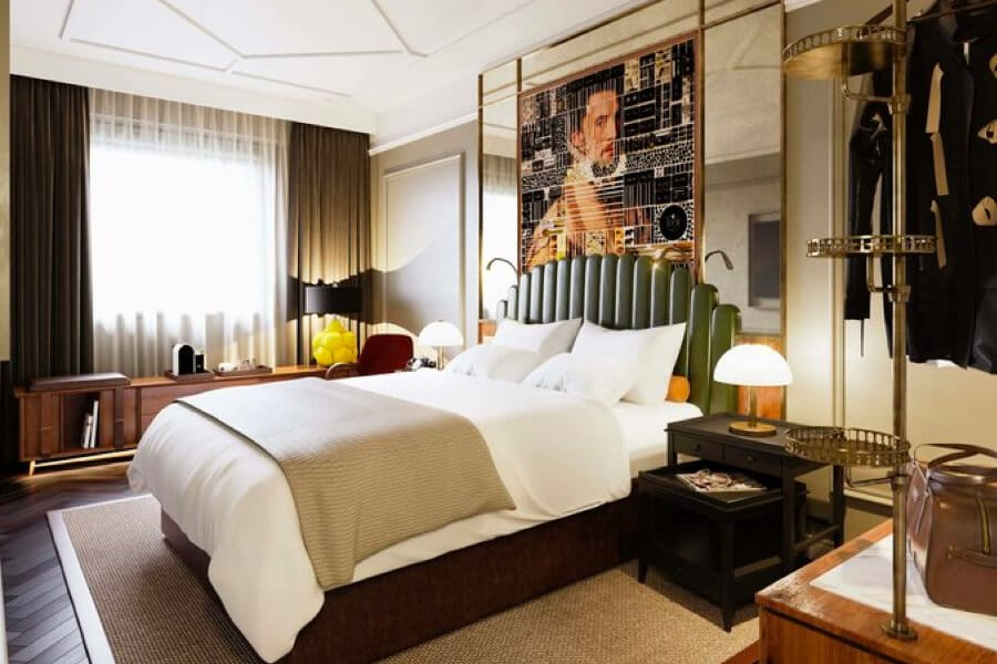 The Collector Hotel kamer den haag