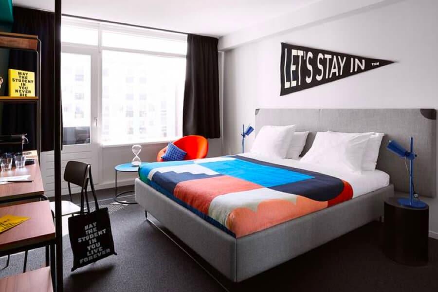 The Student Hotel den haag kamer