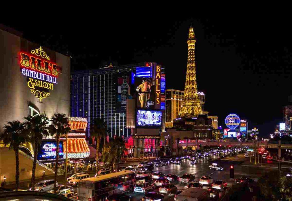 De 5 vetste hotels en casino's van Las Vegas
