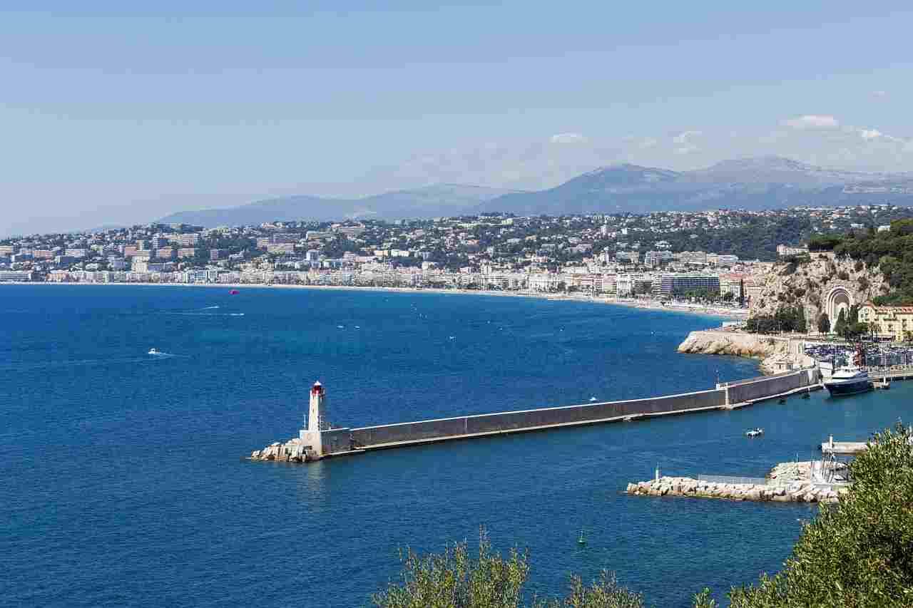 Frankrijk - Côte d'Azur kust