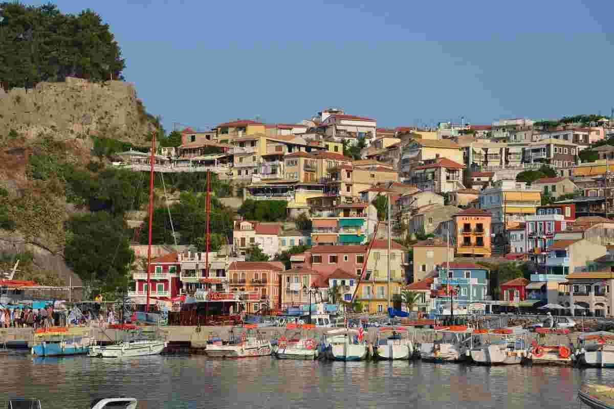 haven van parga griekenland