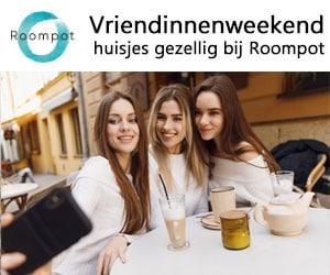 roompot vriendinnenweekend banner
