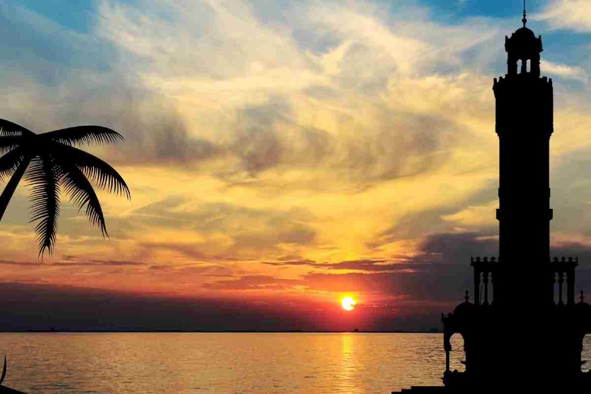 turkije zonsondergang izmir