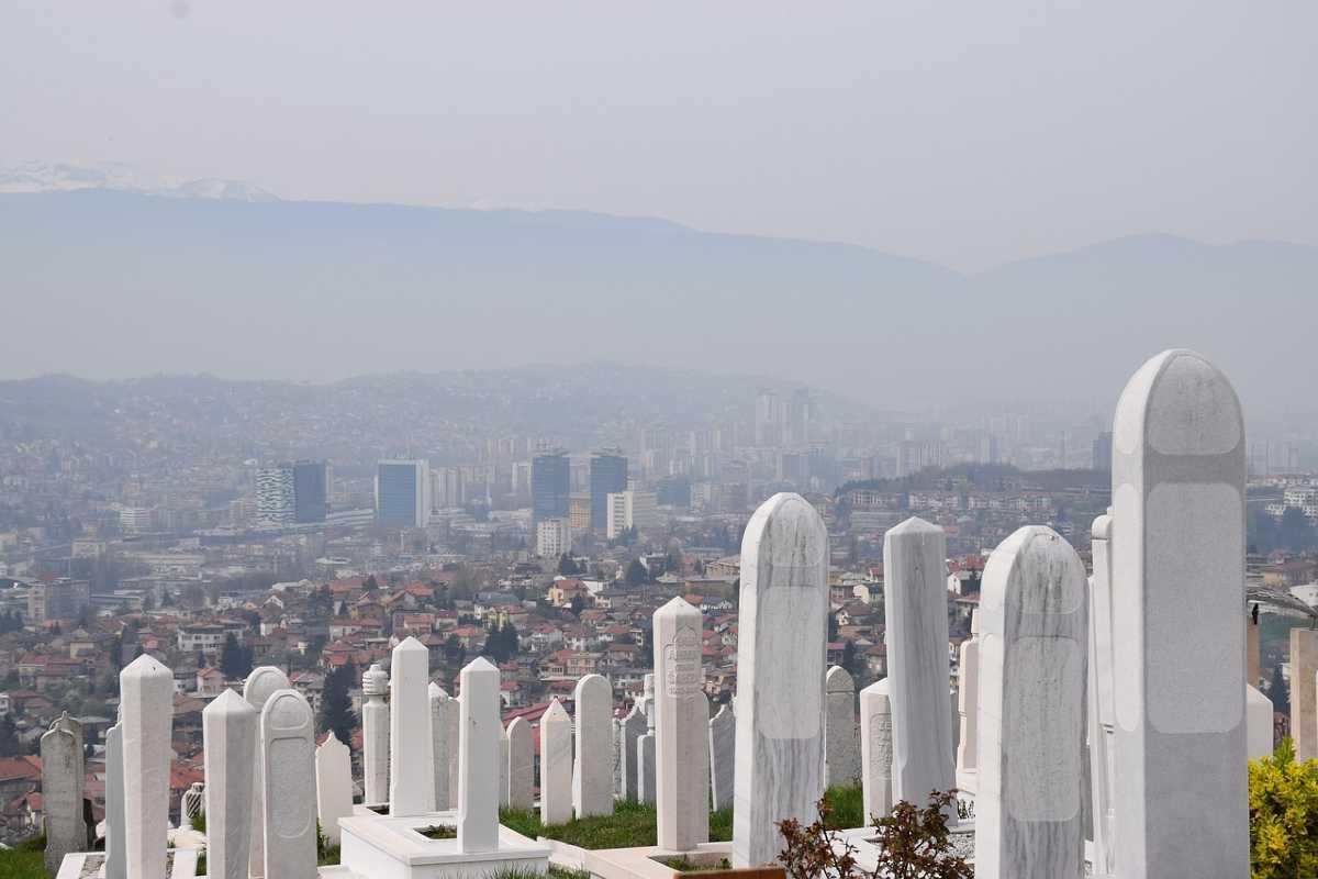 begraafplaats in sarajevo