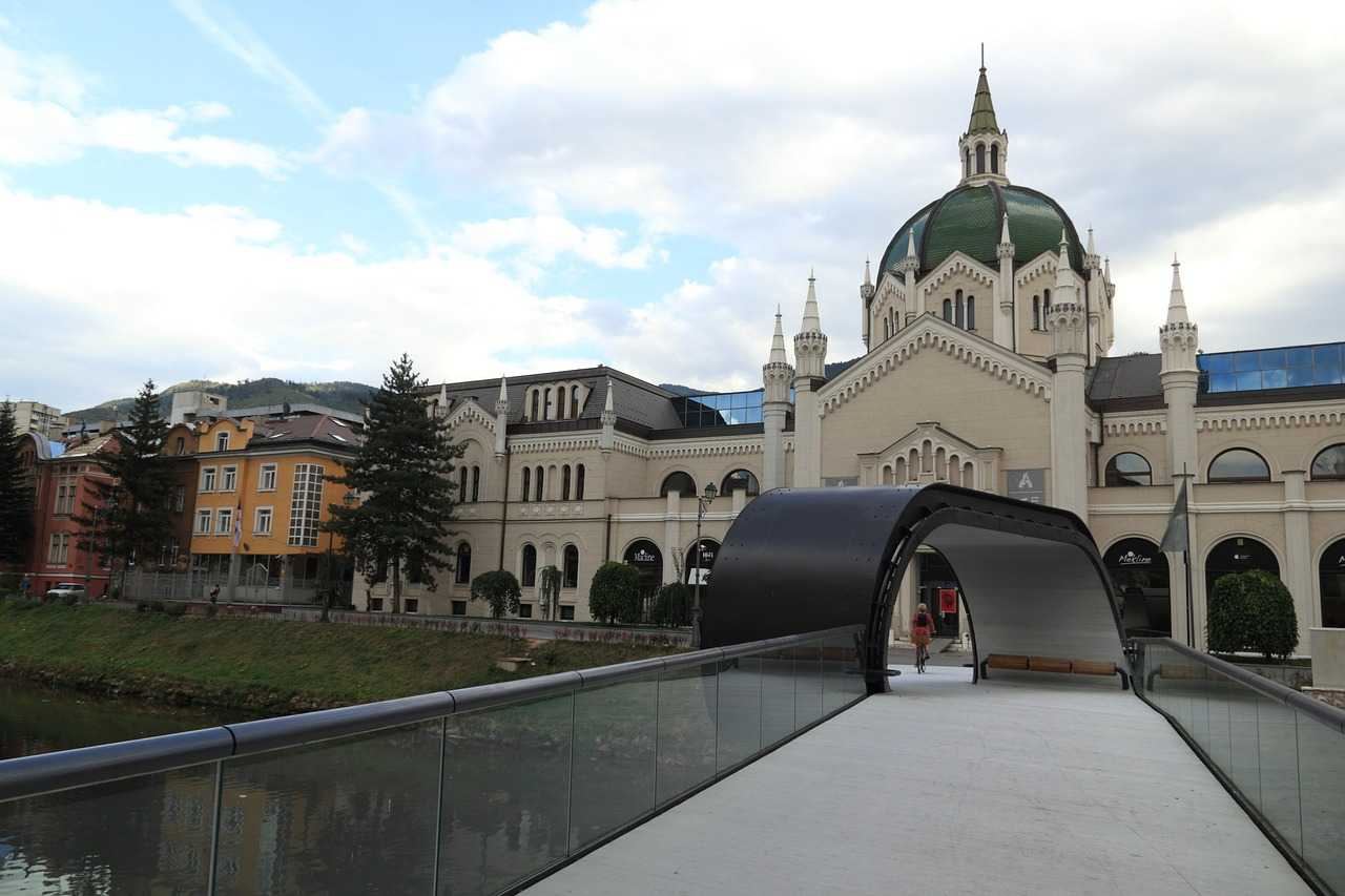 moderne architectuur in sarajevo