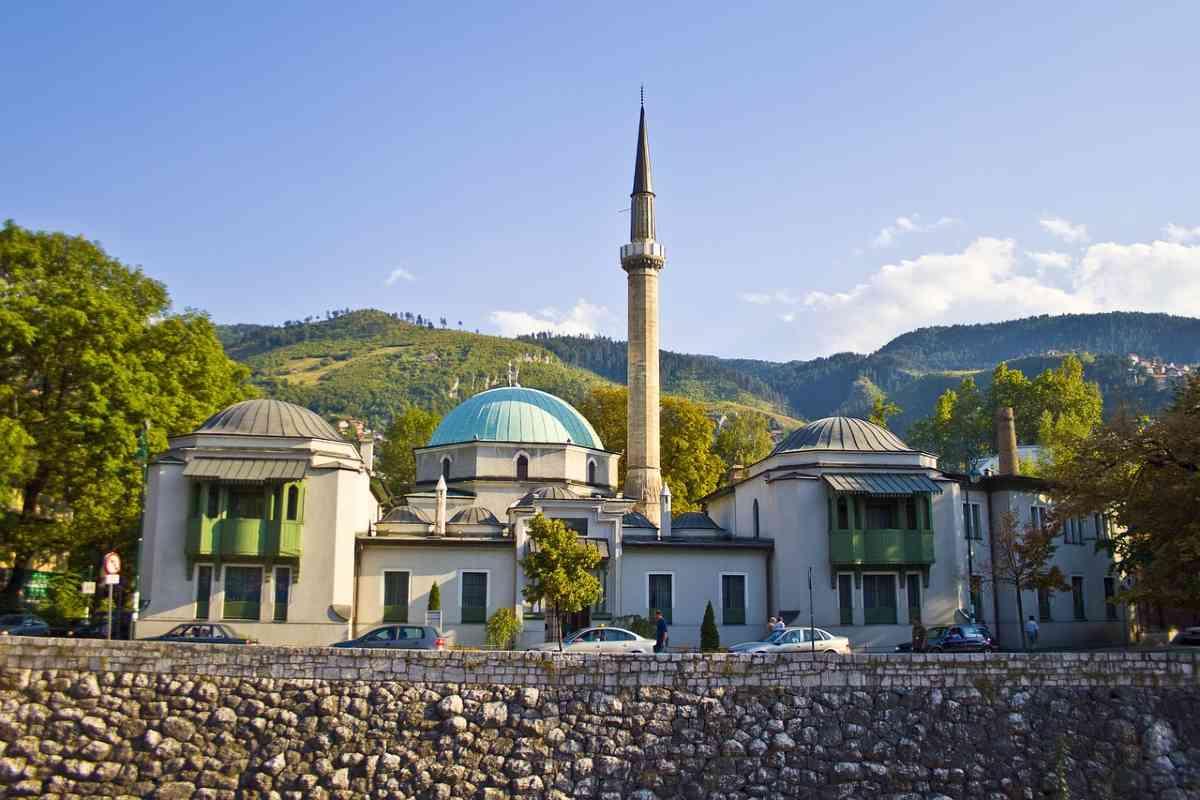 moskee in sarajevo