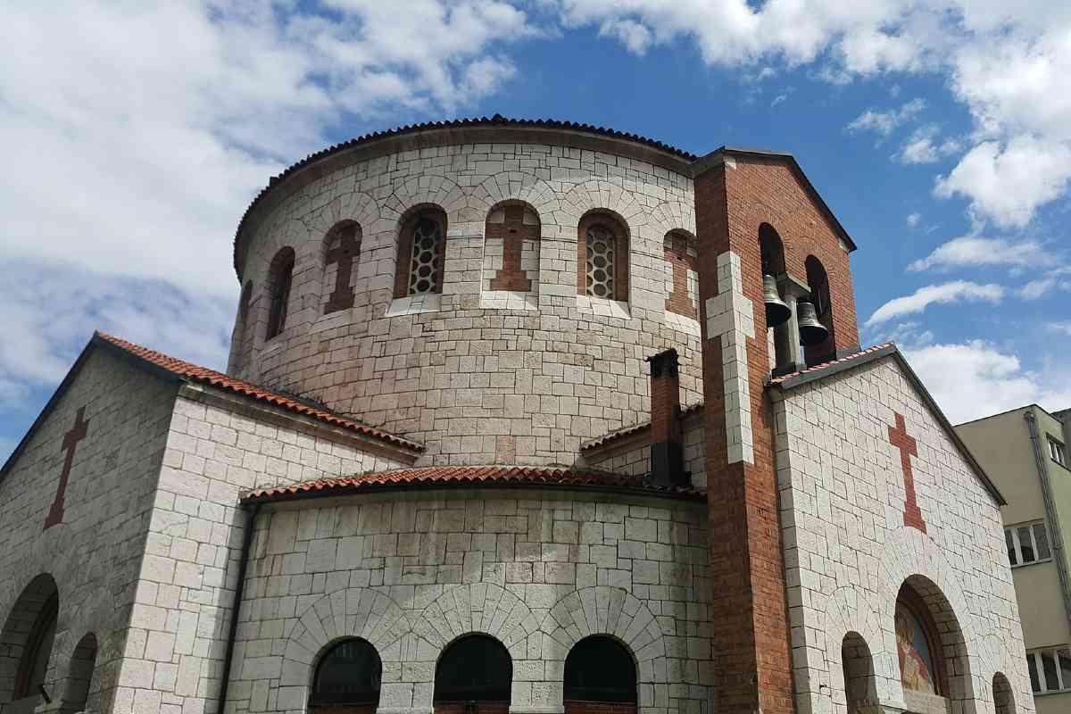 sarajevo een van de kerken