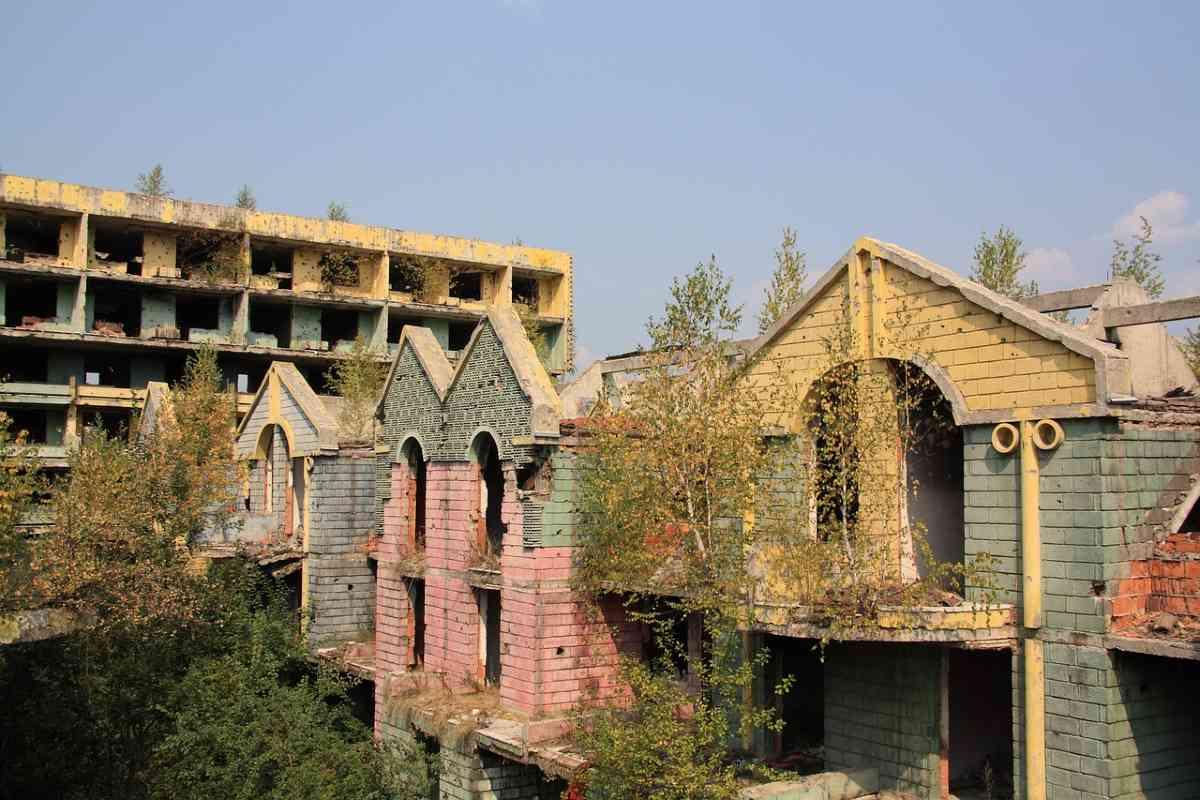 vervallen gebouwen sarajevo